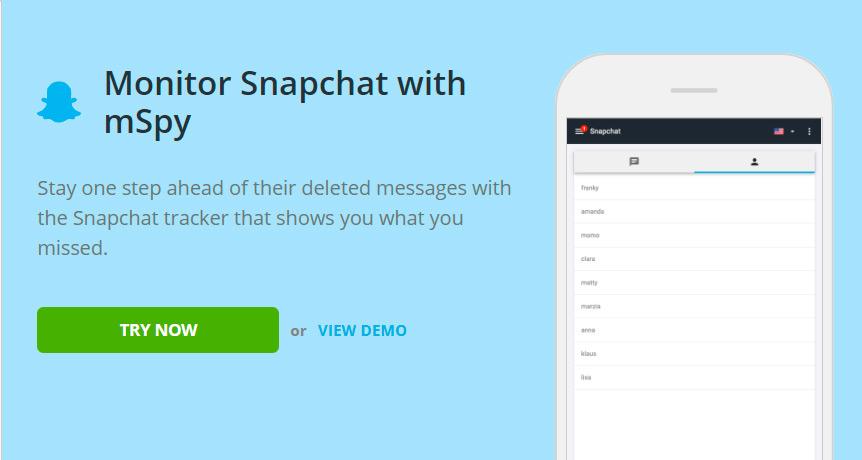 Snapchat monitor app